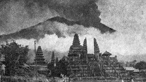 извержение вулкана Агунг 1963